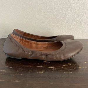 Lucky Brand Shoes - Lucky Brand | Brown leather ballet flats 8